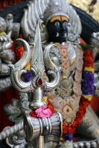 Kalabhairava with trishul