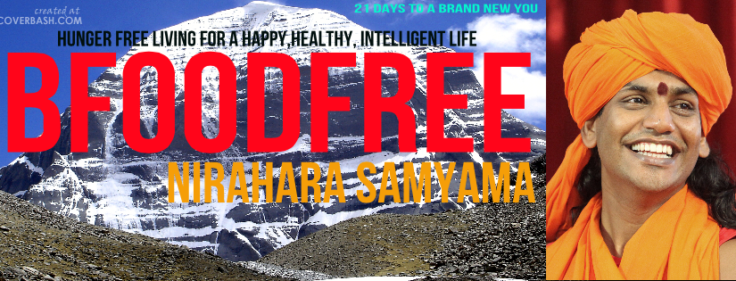 Čo je Nirahara samyama a ako sa jej môžem zúčastniť?