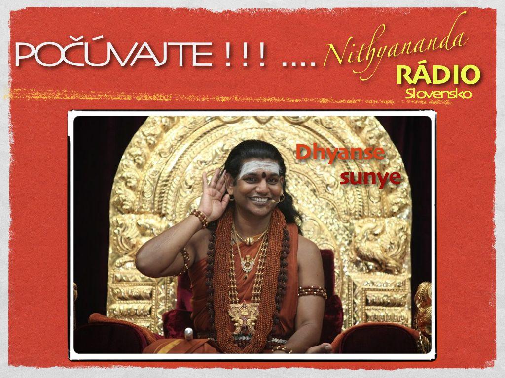 Nithyananda RADIO