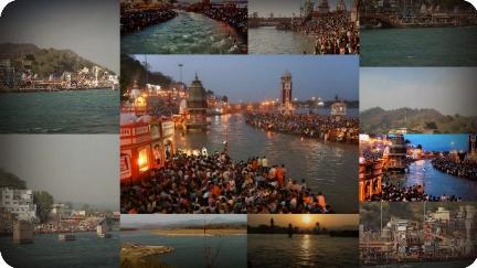 Starobilé a pútnické mesto Haridwar na severe Indie s posvätnou riekou Gangou, miesto konania Inner Awakening a eN-Génius