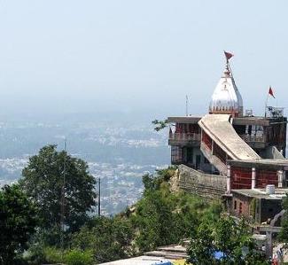 Devi chrám v Haridware, miesto jedneho z výletov