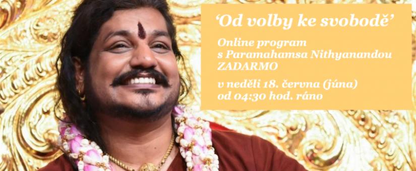 Webinář ZADARMO se Swamijim 'Od volby ke svobodě'