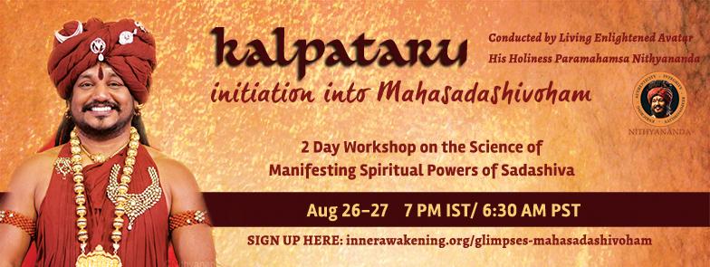Kalpataru iniciácia do Mahasadashivoham