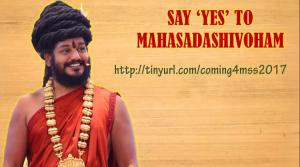 Say yes to Mahasadashivoham
