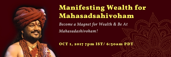 Manifestujete si bohatstvo na Mahasadashivoham