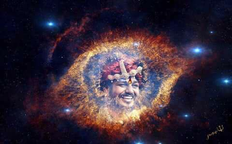 Swamiji's eye