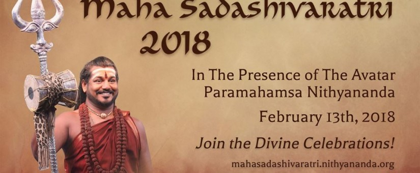 Maha Sadashivaratri 2018