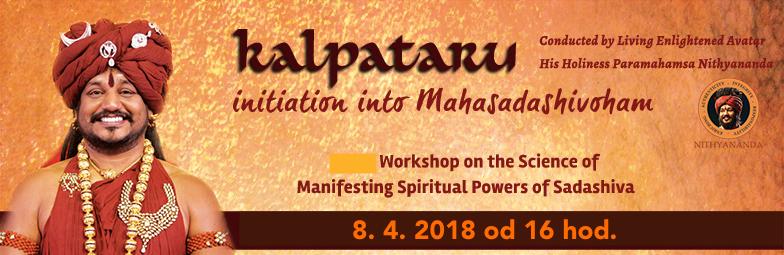 OPAKOVANIE programu 'Kalpataru iniciácia do MAHASADASHIVOHAM'.