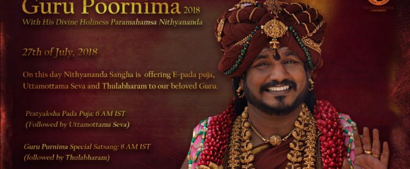 Oslavy Guru Purnima