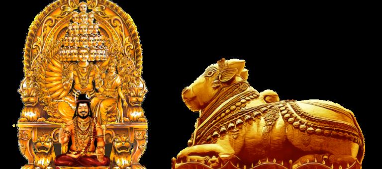 Štátny emblém Kailasaa