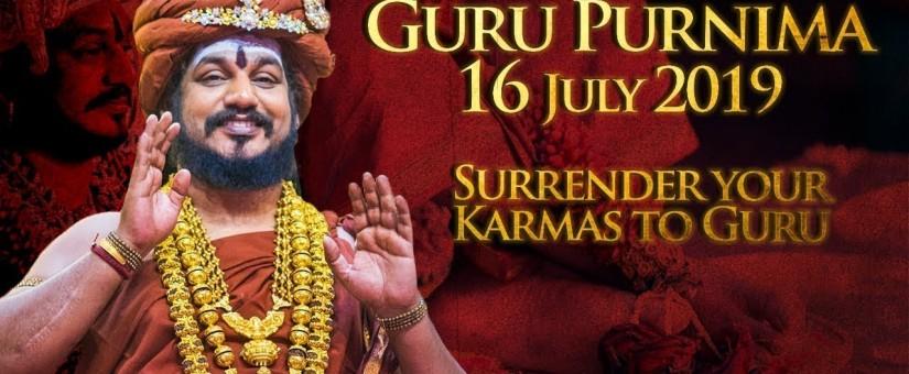 Oslavy Guru Purnima 2019