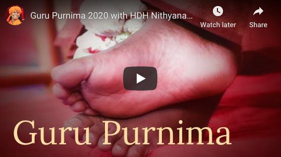 GURU PURNIMA 2020 – video pozvánka