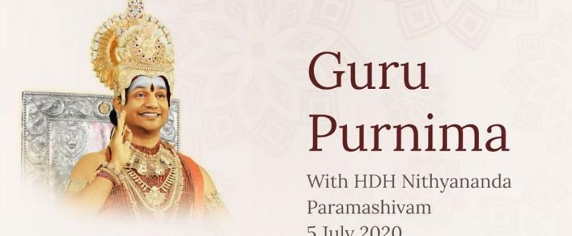 Oslavy Guru Purnima 5.7.2020
