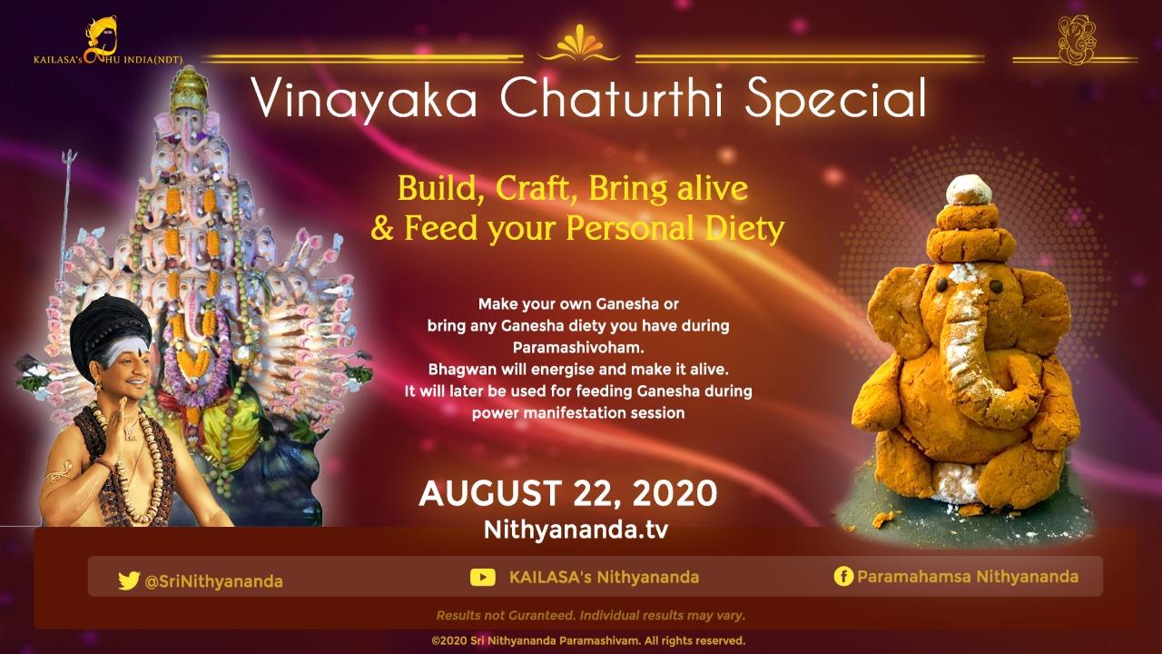 Ganesha Chaturthi special banner